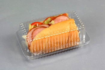 Clear Plastic Sandwich Containers